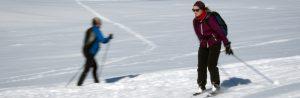 Lonin Gård & Camping - på ski